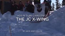 Jace and Collin Sled Challenge
